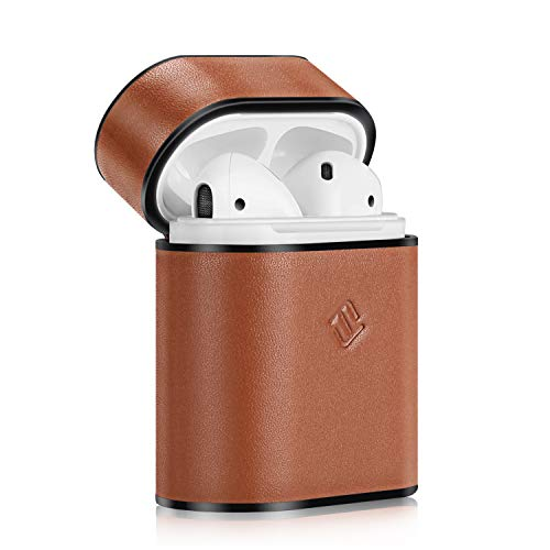 Fintie AirPods Genuine Leather Case