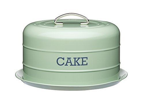 Recipiente hermético Kitchen Living Nostalgia lata/bandeja para tartas, 28,5x 18cm (11