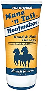 Mane N Tail Hoofmaker 6 Ounce Hand & Nail Therapy (177ml) (3 Pack)