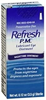 Refresh PM Lubricant Eye Ointment Nighttime Relief For Dry Eye - 3.5 Gm (pack of 4) image may vary