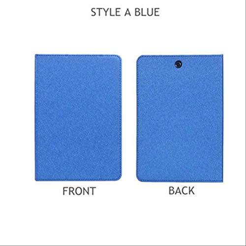 XXIUYHU Flip Case Für Hp Pro Tablet 608 G1 Magnetabdeckung Ständer Halter Pu Ledertasche Für Hp Pro Tablet 608 G1 Z8500 7,9 '' Tablet HülleStyle A Blue