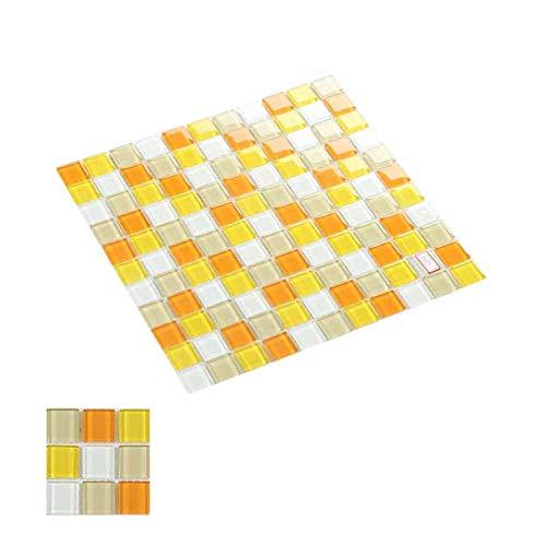 Papel Pintado Decoración de Pared en Relieve Auto adhesivo Impermeable Cocina Baño de piso Azulejo Mosaico Mosaico Tile para Muebles de encimera de cocina Fácil de quitar ( Color : D , Size : 50pack )