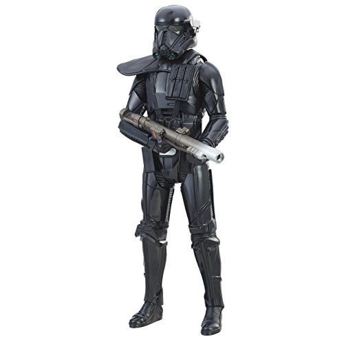Star Wars Rogue One-Figura electrónica de Duel Imperial Death Trooper (Hasbro C1580EL2)
