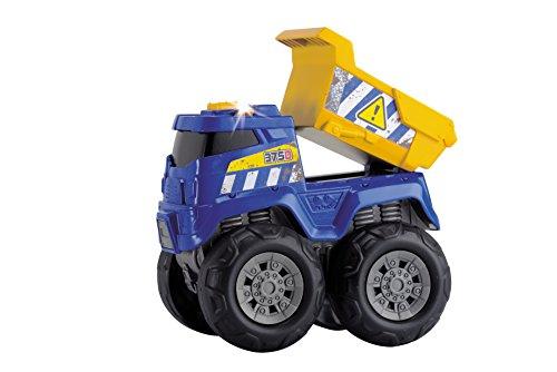 Dickie Jouet de 203301001 – Monster Truck, Tough Workers, Bleu/Rouge/Jaune