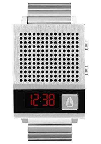 Nixon DORK Too A1266000 - Reloj en Acero con Altavoz y Recargable...