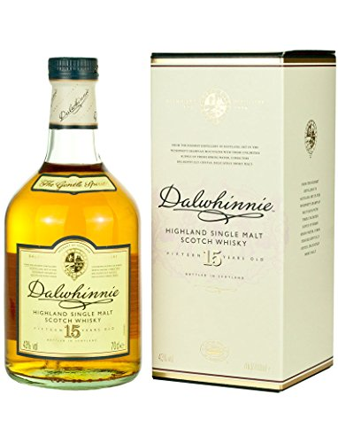 Dalwhinnie Single Malt Highland Whiskey 15 Jahre 0,7l 43{d0f1723484a187c050ea72772b7057243b639d4df7a17d6fc0e0394aaf004a05}