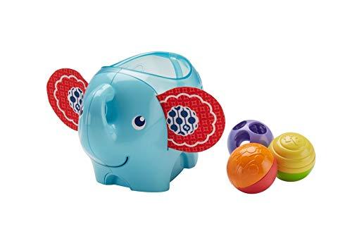 Fisher-Price Roly Poly Mon Éléphant, jeu de balles pour bébé, 3 mois et plus, DYW57