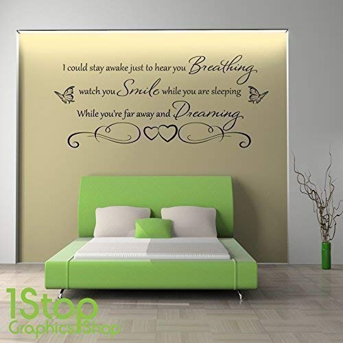 Bedroom Wall Quotes: Amazon.co.uk