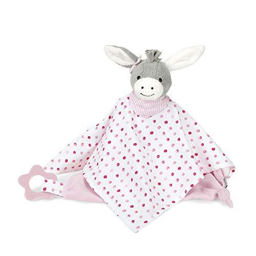 Sterntaler Doudou Emmi Girl, Age: pour Bébés à partir de 1. Mois, Taille: 34 cm, Couleur: Rose/Blanc/Gris, 3221838
