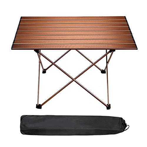 Mesa Plegable Camping,Mesa Terraza Mesa Plegable Multifuncional Portátil para Camping, Mesa De Comedor, Al Aire Libre Picnic Barbacoa Fiesta De Jardín 90x53x64 cm
