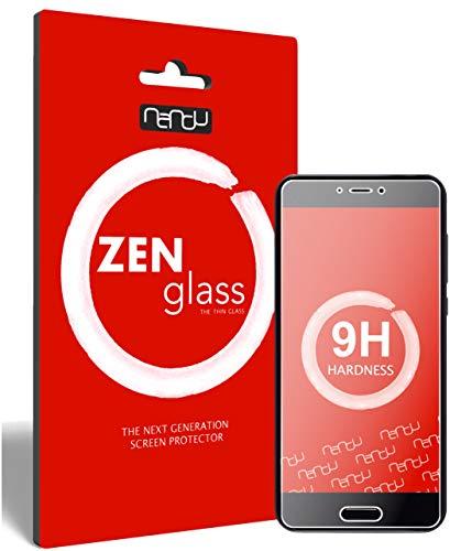 ZenGlass Flexible Glas-Folie kompatibel mit Xiaomi Mi 5c Panzerfolie I Bildschirm-Schutzfolie 9H I (Kleiner Als Das Gewölbte Bildschirm)