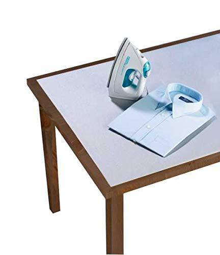 WENKO Tischbügeldecke Alu Decke Unterlage Bezug Bügeltisch Bügeldecke Beschichtete Bügeldecke