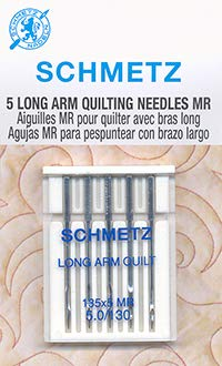 Review Schmetz Long Arm Quilting Needles 135X5MR Size 5.0/130