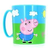 Peppa Pig 748604 - Tazza per Microonde, 8x8 cm