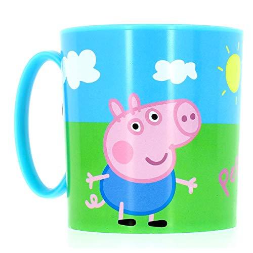 Peppa Pig 748604 - Tasse für Mikrowelle, 8 x 8 cm