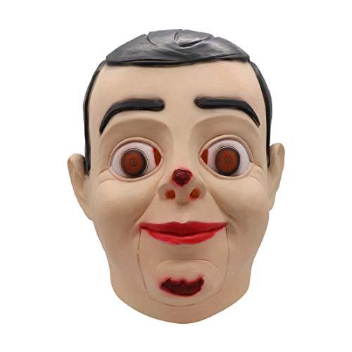 Cafele Goosebumps Slappy The Dummy Vacuform Mask for Halloween