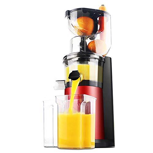 QWESHTU Estrattore di Succo a Freddo Estrattore di Frutta e Verdura Motore Silenzioso e Funzione inversa Funzione Anti-intasamento