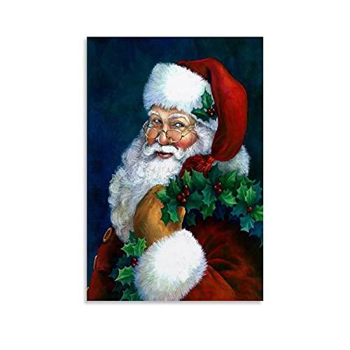 ZHLLONGFG Kerstmis voor Kerstman Art Poster Canvas Art Poster en Muur Art Picture Print Moderne Familie slaapkamer Decor…