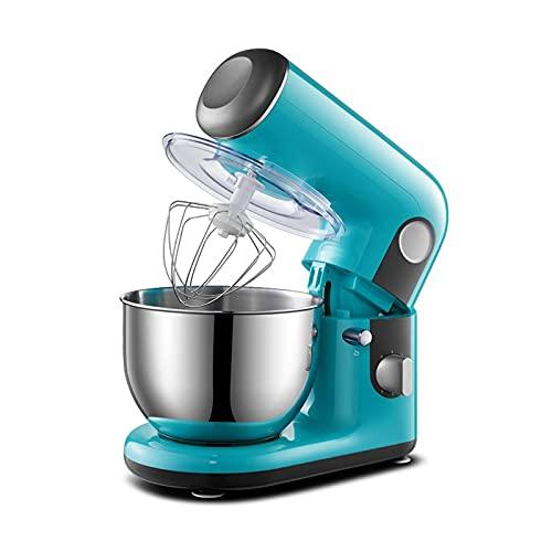 Batidora de pie / batidora de masa / batidora eléctrica de pasteles 1000 W cocina batidora eléctrica de procesador de alimentos para hornear, modo de 6 velocidades, ingenio (batidora batidora de pie)