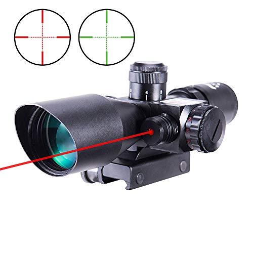 In Your Sights 4.5-18x44 Gewehr Umfang inkl Halterungen mit Beleuchtet Fadenkreuz und Verstellbar Objektiv