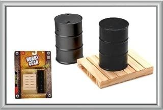 Hobby Gear - 1:24 Scale Garage Pallet & Drums Model Set