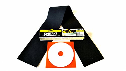 Dr. Cabrio Kit de réparation pour capote de cabriolet Mercedes Benz DB (kit complet avec rustine, colle et CD d'instructions (français non garanti))