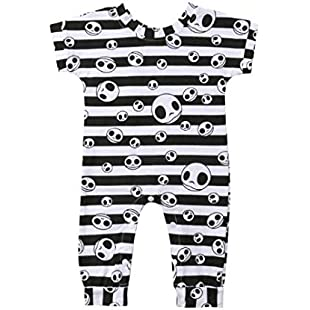 organic baby boy clothes baby hockey clothes amazon baby boy clothes Halloween Newborn Infant Baby Girl Boy Striped Skull Romper Jumpsuit Clothes newborn baby clothes online top baby clothing stores