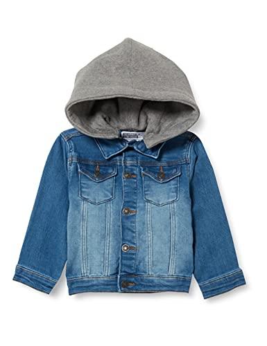 ZIPPY ZTB0103_487_6 Jacket, Light Blue Denim, 24/36M Baby-Boys