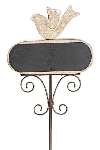 Balise tableau mémo ardoise rustique-hauteur : env. 100 cm