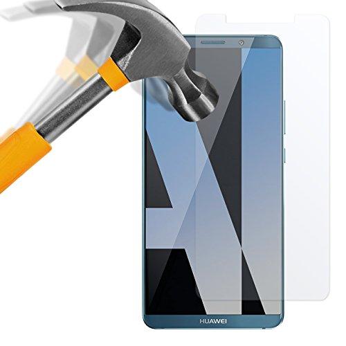 moodie Panzerglas Folie für Huawei Mate 10 Pro [2 Stück] Premium Glasfolie 9H Panzerglasfolie Schutzfolie für Huawei Mate 10 Pro