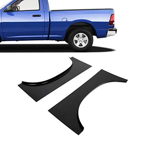 ECOTRIC Panel Bed Rear Upper Wheel Arch Repair Pair Set for 2002-2009 Dodge Ram 1500 & 2002-2008 Dodge Ram 2500 3500