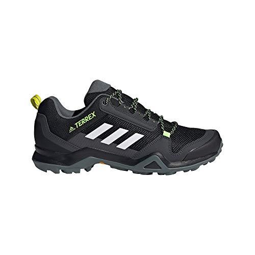 adidas Herren Terrex Ax3 Trekking-& Wanderhalbschuhe, Mehrfarbig Negbás Ftwbla Amaaci, 42 2/3 EU