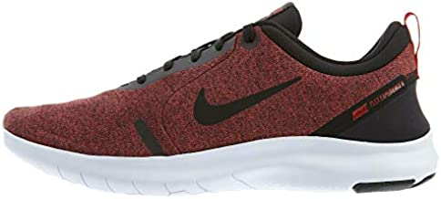 Nike Men's Flex Experience Run 8 Shoe, Black/Black-University Red-White, 9.5 Regular US