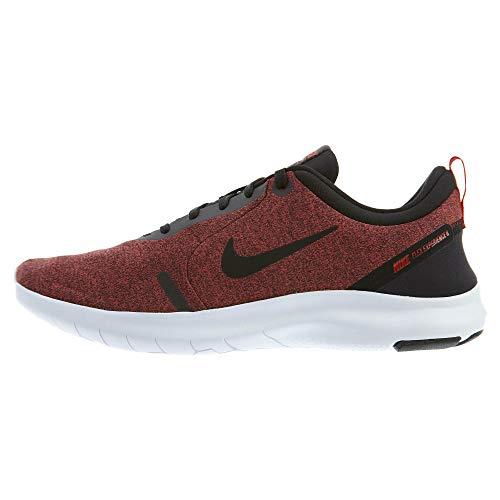 Nike Men's Flex Experience Run 8 Shoe, Black/Black-University Red-White, 10.5 Regular US
