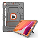 Digital Hutty Schutzhülle für iPad 10.2 Grau/Orange
