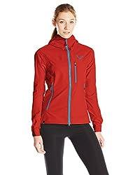 Dynafit Women's Mercury Softshell Jacket, Flame, Large