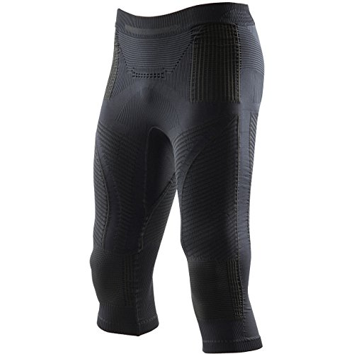 X-Bionic I020241 sous-Pantalons de Sport Homme, Noir/Noir, FR : 2XL (Taille Fabricant : XXL)
