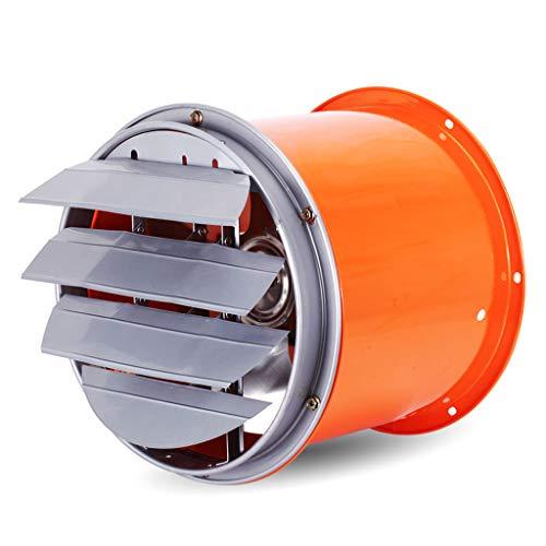 QIQIDEDIAN Luchtventilator, hoge snelheidscilinder, krachtige afzuigventilator, industriële installatie, afzuigkap, jaloezieën, ventilatieventilator