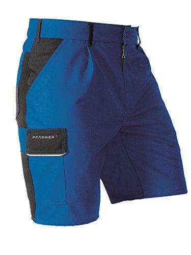 Pfanner Funktions Shorts mit Stretchgewebe, Größe:52, Farbe:grau/schwarz
