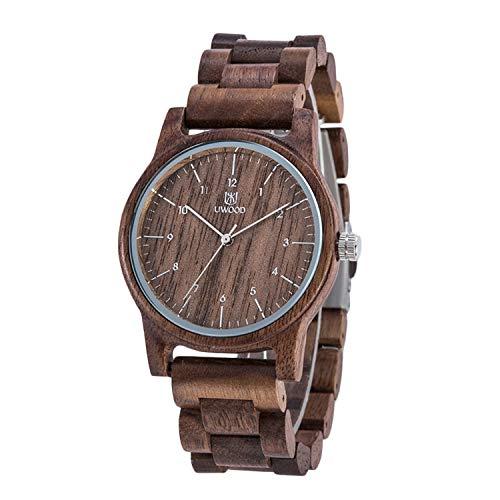 RORIOS軽量木製腕時計 メンズ ウッドウォッチ 天然木の腕時計 おしゃれナチュラルウッドクオーツウォッチ 男性用腕時計 プレゼント