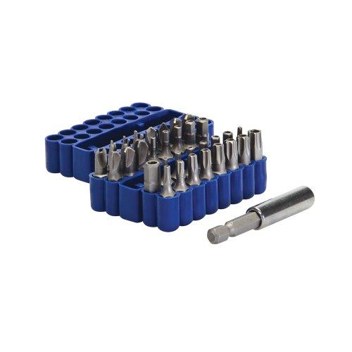 Silverline 909353 Sicherheitsbits, 33-tlg. Satz 25 mm