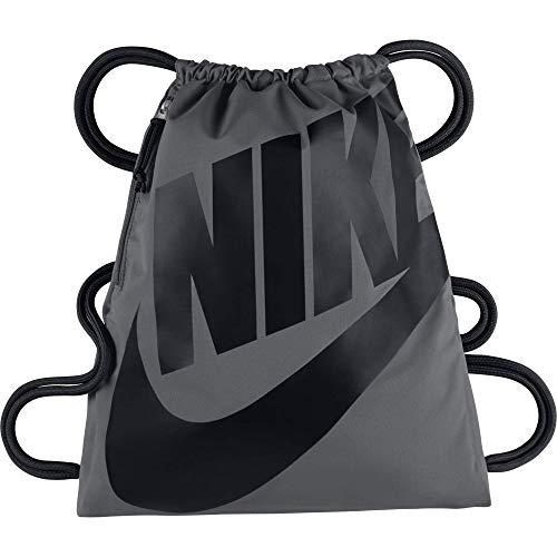Nike Heritage Gymsack Bolsa, Mujer, Blanco/Negro, S