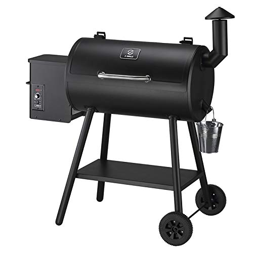 lowes bbq smokers Z GRILLS 550B2 Wood Pellet Grill & Electric Smoker BBQ Combo with Auto Temperature Control | 2021 Upgrade | 553 sq in Black