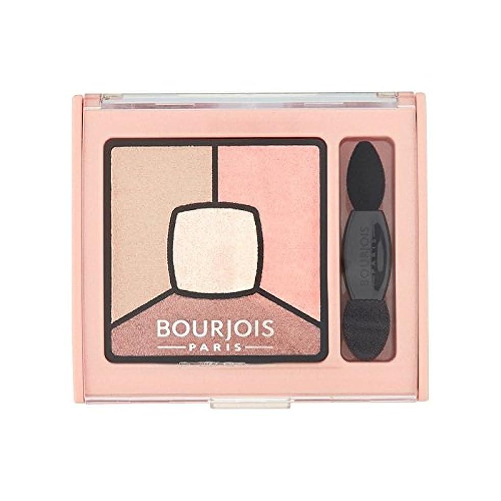 北米トランザクション有彩色のブルジョワクワッドスモーキーアイシャドウ話 は14をヌード x4 - Bourjois Quad Smoky Stories Eyeshadow Tomber Des Nudes 14 (Pack of 4) [並行輸入品]