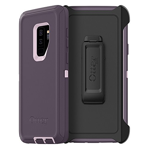 OtterBox DEFENDER SERIES Case for Samsung Galaxy S9+ - Retail Packaging - PURPLE NEBULA (WINSOME ORCHID/NIGHT PURPLE)