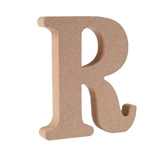 Decorativo De madera Letras, Original Color 26 Alfabeto Madera Letras para ombre Para niños Cumpleaños Fiesta Boda Casa Decoración y Cuarto, Gspirit (R)