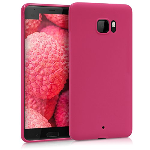 kwmobile HTC U Ultra Hülle - Handyhülle für HTC U Ultra - Handy Case in Fuchsia matt