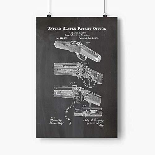 Zenladen Gun 13 Winchester Singleshot Poster 12X18 Inch Unframed, Gun Safe, Gun Movie, Gun Poster, Gun War, Gift for Friend, Bestfriend, Gun Ower, Gun Lover, Amazing Gift