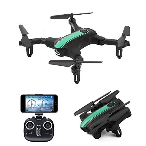 XIAOKEKE Drone GPS Drone with Camera, RC Quadcopter 4K 5G WiFi FPV Transmission Drone for Adults, Auto-Return, Follow Me, Orbit Mode, Altitude Hold, Best for Beginners,Green