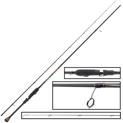 Iron Trout Spooner 2,28m 0,5-8g - Spinnrute für Forellen, Angelrute, Ultra Light Rute für Spoons, Forellenrute zum Spinnangeln